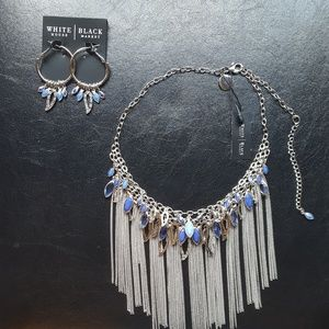 White House Black Market Jewelry - WHBM necklace and earrings